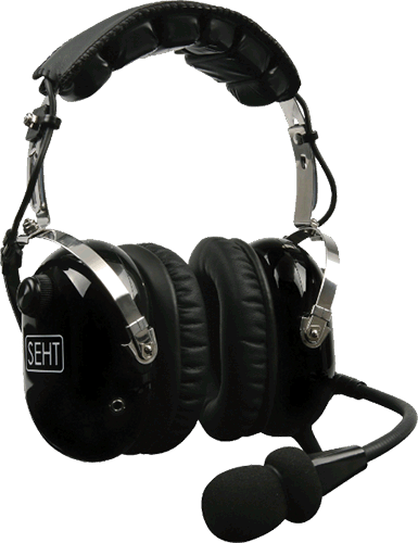 Aviation pilot headsets
